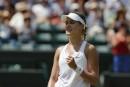 Eugenie Bouchard atteint les demi-finales à Wimbledon