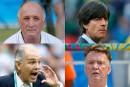 Coupe du monde: le carré d'as des sélectionneurs