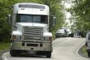 Laurentides: un cycliste meurt après une collision avec un camion