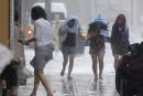 Le typhon <em>Neoguri</em>balaie le Japon, Okinawa en alerte