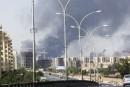 Libye: affrontements pour le contrôle de l'aéroport de Tripoli