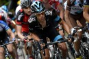 Tour de France: Richie Porte assume son nouveau rôle