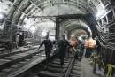 Accident dans le métro de Moscou: deux arrestations