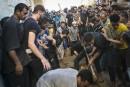 De nombreux habitants de Gaza ont assisté à l'enterrement des...   17 juillet 2014