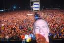 Le <em>selfie</em> de Bryan Adams