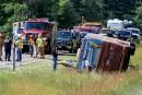 Accident d'autocar: une ado de Lévis perd la vie