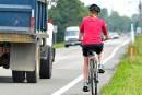 Piste cyclable sur l'île d'Orléans: faisable et favorable à l'économie locale