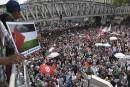 Manifestations pour Gaza: affrontements avec la police à Paris