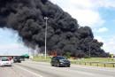 Explosion d'un camion-citerne sur l'autoroute640: un mort