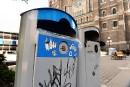 Prototypes de poubelles: un an de plus sur les trottoirs de Québec