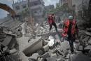 Les secouristes de Gaza, frères d'armes au milieu du chaos