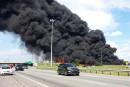 Explosion: le camion-citerne appartenait à la compagnie GHL
