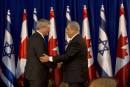 Frappes israéliennes:Harper blâme encore le Hamas
