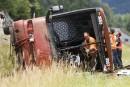 Accident d'autocar: une erreur humaine, selon des passagers
