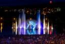 Le public a apprécié le théâtre d'eau multimédia, dit Destination Sherbrooke