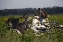 Vol MH17: des restes humains encore sur le site du drame