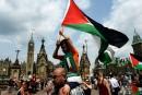 Manifestation contre les actions militaires d'Israël