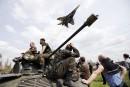 Deux avions militaires ukrainiens abattus