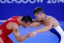Une troisième médaille d'or canadienne en lutte