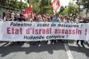 Des milliers de manifestants soutiennent Gaza en France