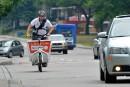 Livreurs à vélo: en sécurité... et dans le trafic