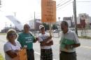 Les retraités de Papier Masson manifestent