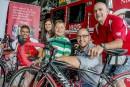 260 km pour les pompiers, ambulanciers et policiers du Tour Frédérick-Duguay