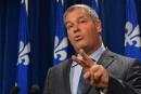 « On va construire des écoles»promet Yves Bolduc