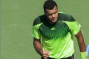Tsonga s'impose contre Federer