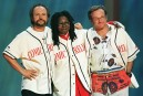 Billy Crystal, Whoopi Goldberg et Robin Williamssur la scène du...   11 août 2014