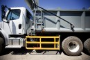 Des dispositifs sur les camions pour protéger cyclistes et piétons
