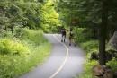 La piste cyclable de 19 km qui ceinture le parc... | 15 août 2014