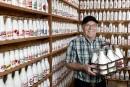 Les collectionneurs: le lait, comme ça lui plaît