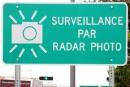 Québec enlèvera les mots sur l'affichage des radars photo