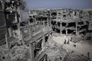 Gaza, un champ de ruines