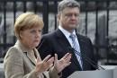 Merkel défend l'intégrité territoriale de l'Ukraine