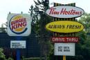 Les actions de Tim Hortons et Burger King bondissent