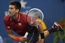 US Open: Djokovic ne perd pas de temps