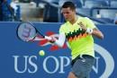 US Open: Raonic accède aux 8<sup>es</sup> de finale