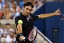 Roger Federer gagne devant son idole de jeunesse