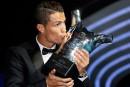 Cristiano Ronaldo élu meilleur joueur en Europe