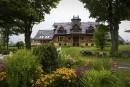 Une fenêtre sur la nature: la maison sur la colline