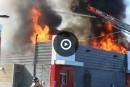 Violent incendie dans un McDonald's de Charlesbourg