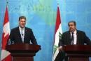 Baird promet 15millions$ en aide à l'Irak