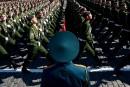 Des forces russes «sans précédent» à la frontière ukrainienne