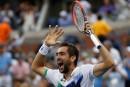 US Open: Djokovic et Federer éliminés, Cilic et Nishikori en finale