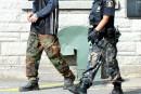 Moyens de pression des policiers: pas de «camouflage» à Nicolet