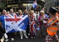Écosse: défilé à Édimbourg pour défendre le Royaume-Uni