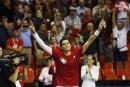Coupe Davis: le Canada demeure dans l'élite mondiale