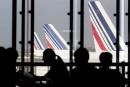 Air France: un avion sur deux cloué au sol